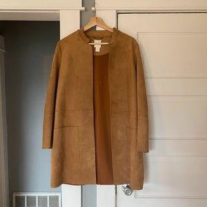 Suede Tan H&M Coat